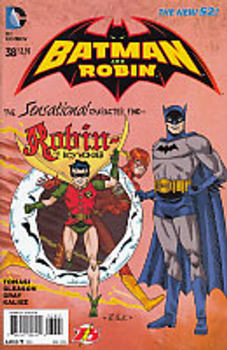 Batman & Robin # 38b Limited 'FLASH' Variant