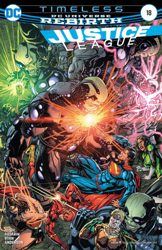 Justice League #18 (2016- )(Rebirth)