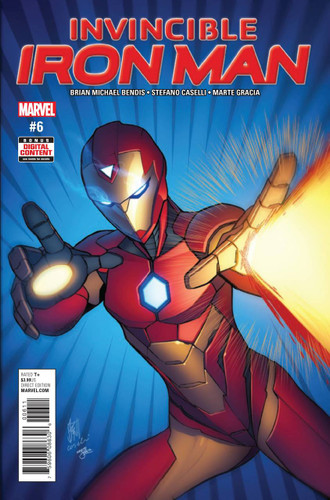 Invincible Iron Man #06 (2016- )