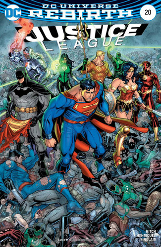 Justice League #20 (2016- )(Rebirth) Limited Variant