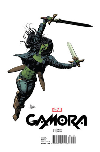 GotG: Gamora #01 (2017- ) Limited 'DEODATO' Variant