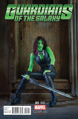 Guardians of the Galaxy #01 (2016 - ) Limited 'COSPLAY' Variant