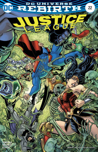 Justice League #22 (2016- )(Rebirth) Limited Variant