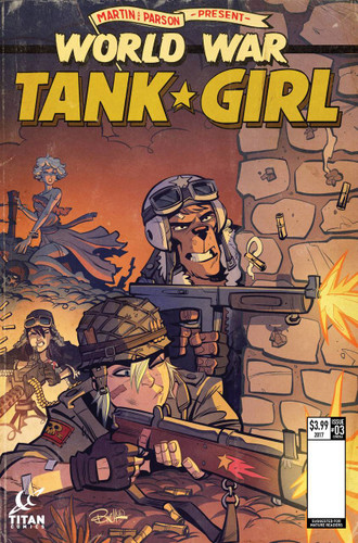 Tank Girl: World War Tank Girl #03 (of 4)