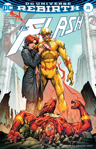 Flash #25 (2016- )(Rebirth) Limited Variant