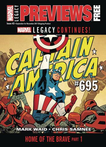 Previews Marvel Catalogue - SEPTEMBER