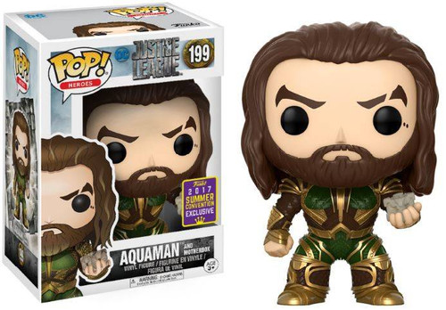 FUNKO POP! Justice League Movie - Aquaman (Motherbox) SDCC Exclusive