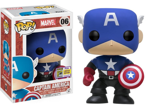 FUNKO POP! Marvel Comics - Captain America SDCC Exclusive