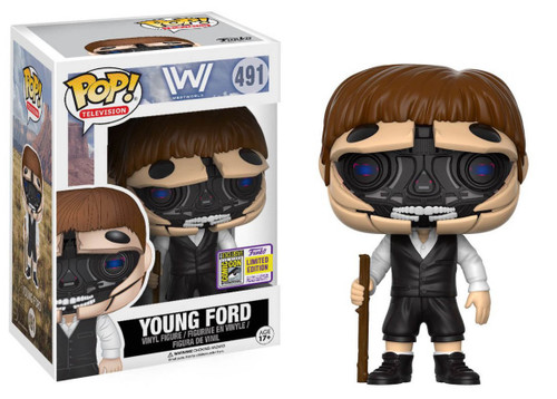 FUNKO POP! Westworld - Young Ford (Open Face) SDCC Exclusive