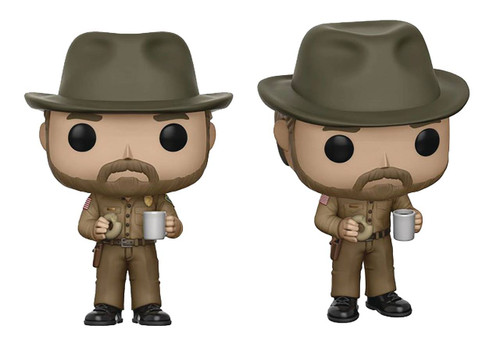 FUNKO POP! Stranger Things - Hopper (with Donut)