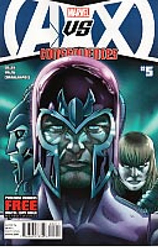 Avengers Vs X-Men: Consequences # 5 (of 5