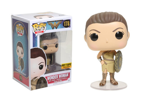 FUNKO POP! Wonder Woman - Amazon Wonder Woman Hot Topic Exclusive