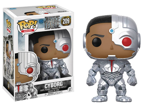 FUNKO POP! Justice League Movie - Cyborg