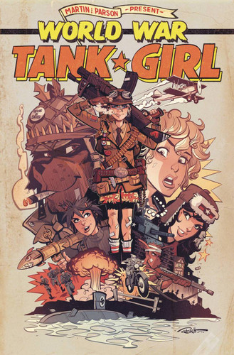 Tank Girl: World War Tank Girl #04 (of 4)