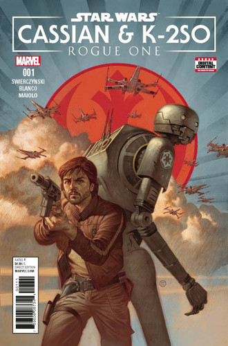 Star Wars: Rogue One - Cassian & K-2SO (one-shot)(2017)