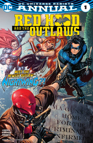 Red Hood and the Outlaws: Annual #01 (2017) (Rebirth)