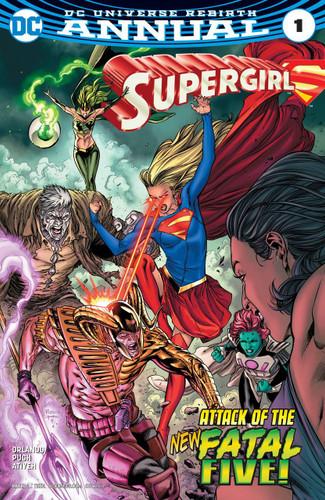 Supergirl: Annual #01 (2017)(Rebirth)