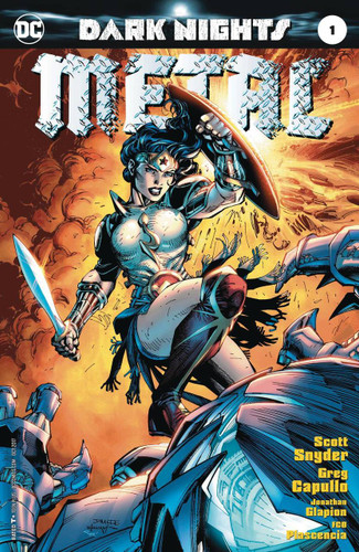 Dark Nights: Metal #01 (2017) Limited 'JIM LEE' Variant