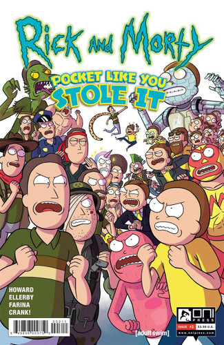 Rick and Morty: Pocket Like You Stole It #03 (2017- )