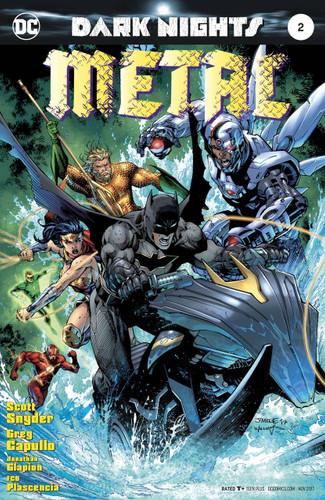 Dark Nights: Metal #02 (2017) Limited 'JIM LEE' Variant
