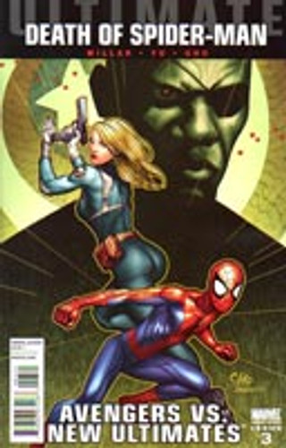 Ultimate Comics: Avengers Vs New Ultimates # 3b limited variant (of 6)