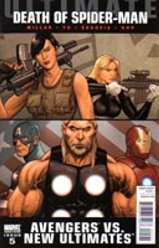 Ultimate Avengers Vs New Ultimates # 5b limited variant