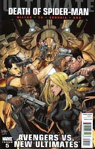 Ultimate Avengers Vs New Ultimates # 5a