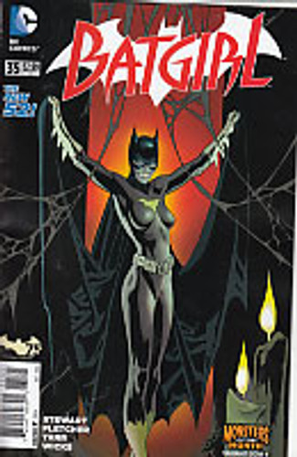 Batgirl # 35b 'MONSTERS' variant