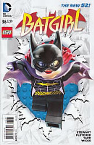 Batgirl # 36b Limited 'LEGO' variant