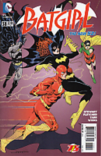 Batgirl # 38b Limited 'FLASH' Variant