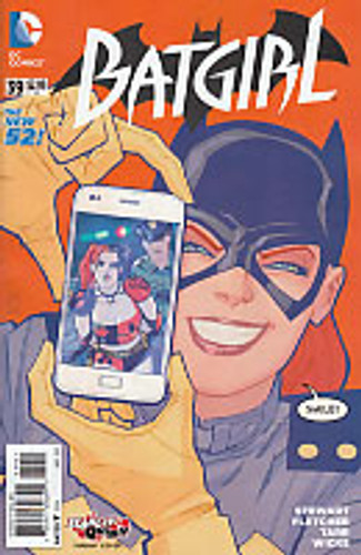 Batgirl # 39b Limited 'HARLEY QUINN' Variant
