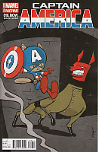 Captain America # 16b limited 'animal' variant