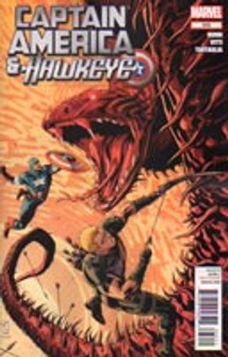 Captain America & Hawkeye # 632