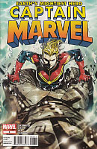 Captain Marvel Vol 1 # 8