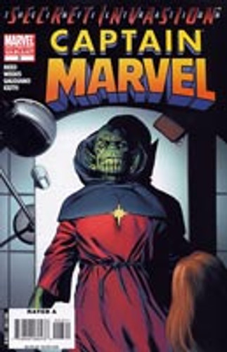 Captain Marvel Vol 1 # 3 2nd print variant