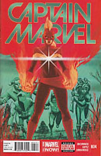 Captain Marvel # 4