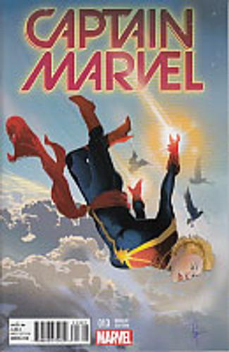 Captain Marvel # 13b limited variant