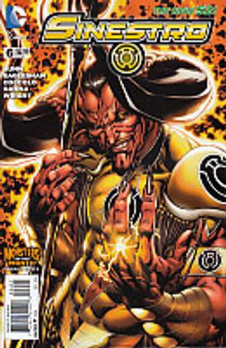 Sinestro # 6b Limited 'MONSTER' Variant