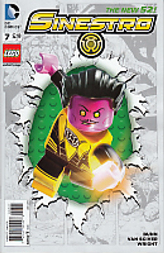 Sinestro # 7b Limited 'LEGO' Variant