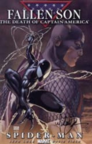 Civil War: Fallen Son # 4b - Spider-Man limited variant