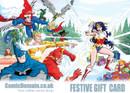 Comic Domain Festive Gift Card