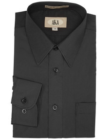 Boy's Black Dress Shirt
