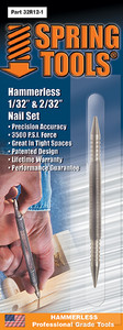 "Double Ended 1/32"" & 1/16"" Nail Set"