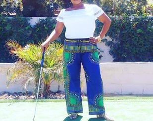 Dashiki Drawstring Pants