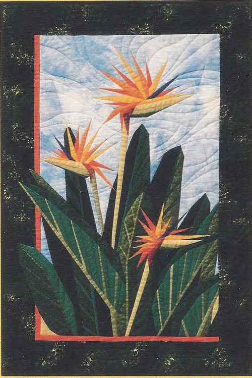 Birds of Paradise Paper Piecing Quilt