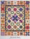 Fresh Cut Flowers Foundation Paper Piecing Quilt Option 1: Woodcut