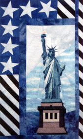Lady Liberty Paper Piecing Quilt