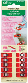 Wonder Clips by Clover - 10 Pack