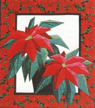 Poinsettia Paper Piecing Quilt