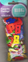 """Big Bag of Buttons (Alphabet) – A collection of big sew through colored numbers – 1"""" x 5/8""""."""
